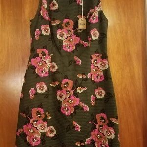 Fossil Angelina Green Dress Multicolor